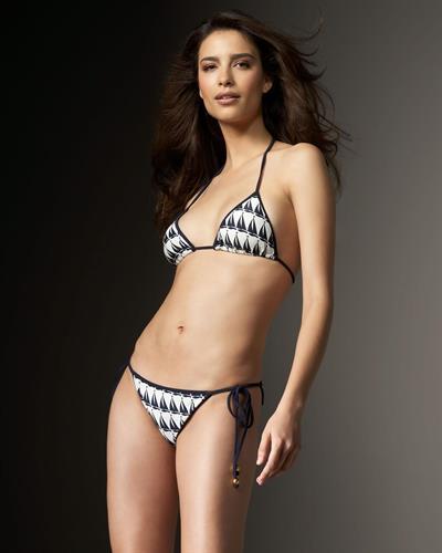 Natalia Beber in a bikini