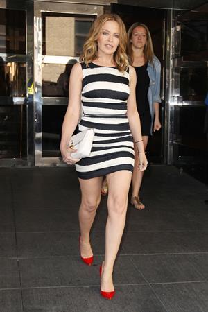 Kylie Minogue in New York June 19, 2013