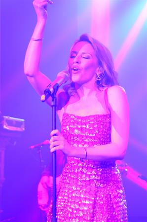 Kylie Minogue - Performs At The Samsung Galaxy Note 10.1 Launch Party In London August 15, 2012