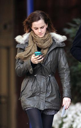Emma Watson out and about in NYC 11/18/12