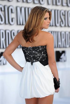 Ashley Greene at the 2010 MTV video music awards on December 9, 2010