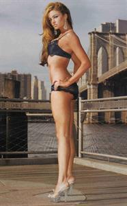 Maria Kanellis in lingerie