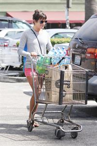 Lea Michele leaving Whole Foods in LA 9/21/12