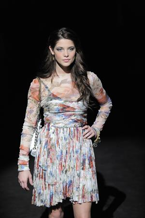 Ashley Greene Milan Fashion Week Womenswear Autumn Winter 2010 show February 28