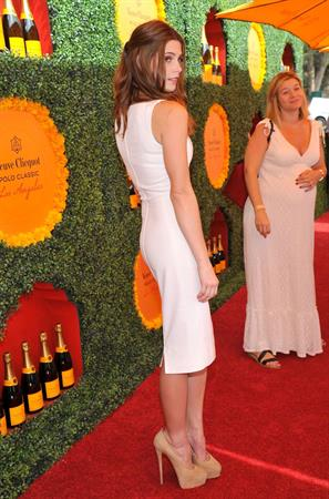 Ashley Greene 3rd Annual Veuve Clicquot Polo Classic in LA October 6, 2012