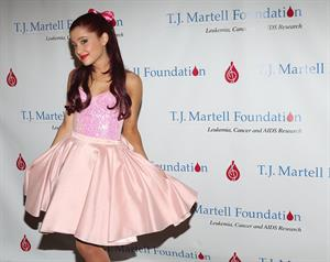 Ariana Grande TJ Martell Foundation Concert New York City April 22, 2012