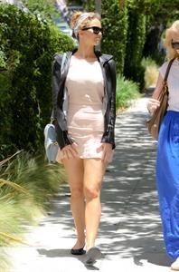 Jennifer Lawrence outside the Sheraton Hotel in Los Angeles on June 23, 2012