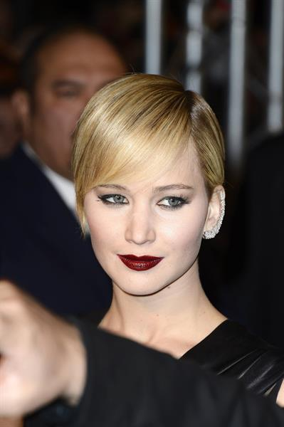 """Jennifer Lawrence """"The Hunger Games: Catching Fire"""" French Premiere in Paris, November 15, 2013"""