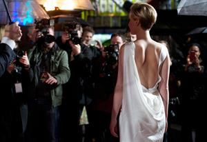 Jennifer Lawrence World Premiere of  The Hunger Games: Catching Fire  in London (November 11, 2013)