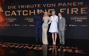 Jennifer Lawrence  The Hunger Games - Catching Fire  Germany Premiere in Berlin, Nov. 12, 2013