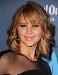 Jennifer Lawrence 24th Annual GLAAD Media Awards in Los Angeles, Apr. 20, 2013