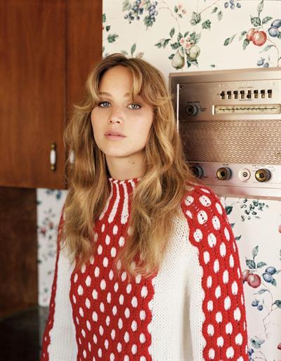 Jennifer Lawrence UK Vogue by Alasdair McLellan