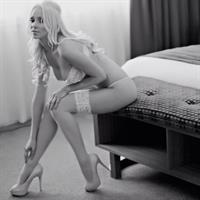 Krystal Dawson in lingerie
