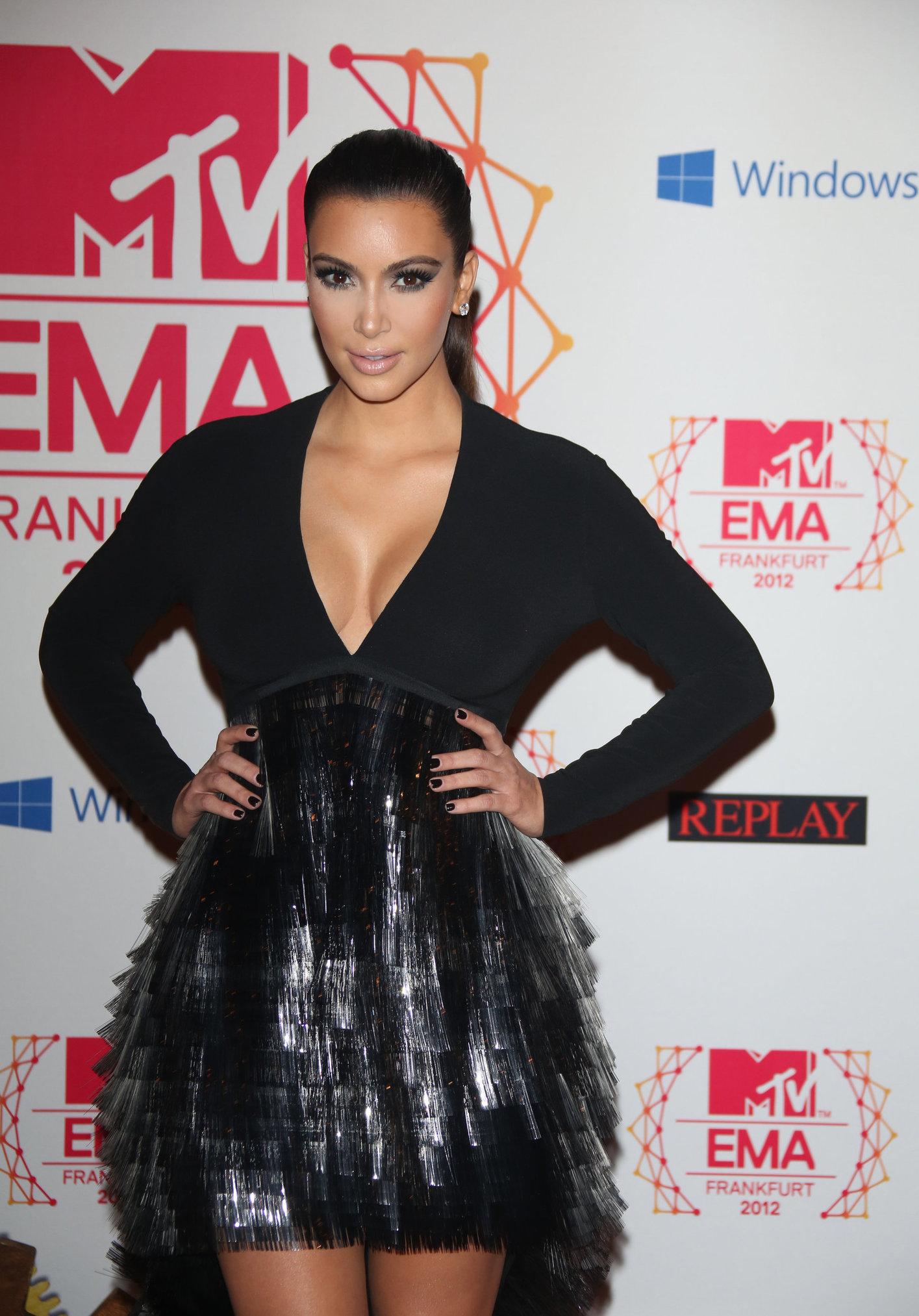 Kim Kardashian MTV EMA's 2012 Frankfurt November 11, 2012