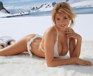 2013 Sports Illustrated Swimsuit Edition.  Kate Upton in Antarctica