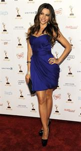 Sofia Vergara at the Entertainment Weekly and Women in Film pre Emmy party on September 16, 2011
