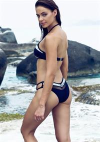 Nicole Meyer in a bikini - ass