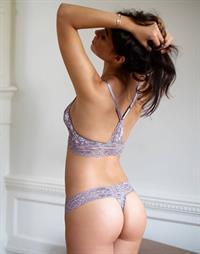 Nicole Meyer in lingerie - ass