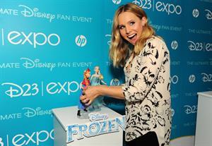 Kristen Bell at Disney's D23 Epo in Anaheim, California - August 9, 2013