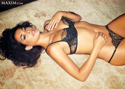 Natalie Martinez in lingerie