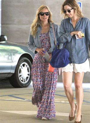 Kristen Bell - spotted out and about with a friend in North Hollywood May 31, 2012