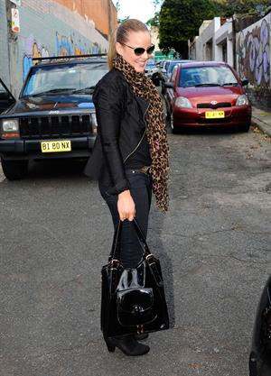 Abbie Cornish out and about in Sydney on March 29, 2012