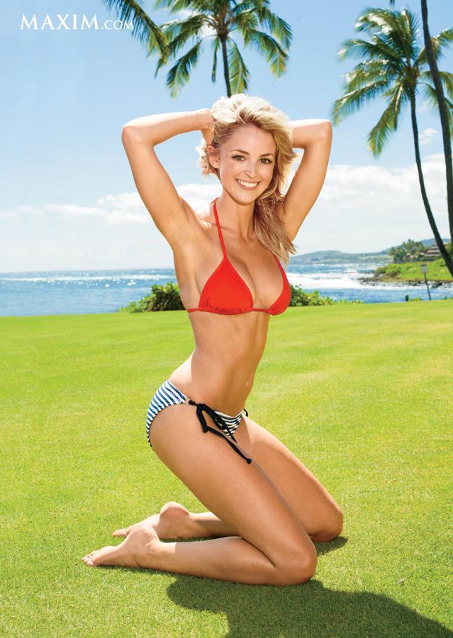 Kaitlynn Carter in a bikini