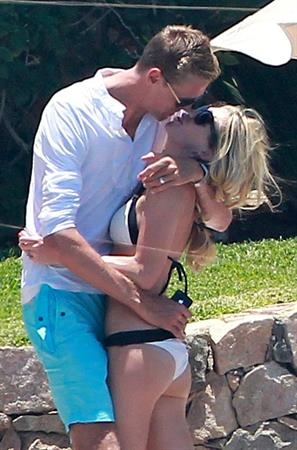 Abigail Clancy in Mexico on June 24, 2012