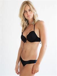 Julie Ferland in lingerie