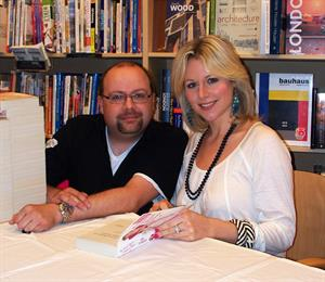 Abi Titmuss at a book signing in Southampton August 2, 2008