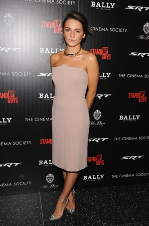 Addison Timlin at The Cinema Society With Chrysler Bally Host The Premiere Of Stand Up Guys 10/12/2012