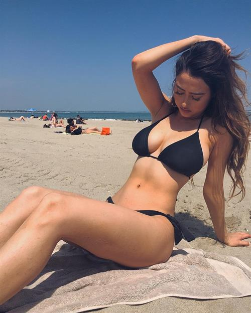 Anna Sophe in a bikini