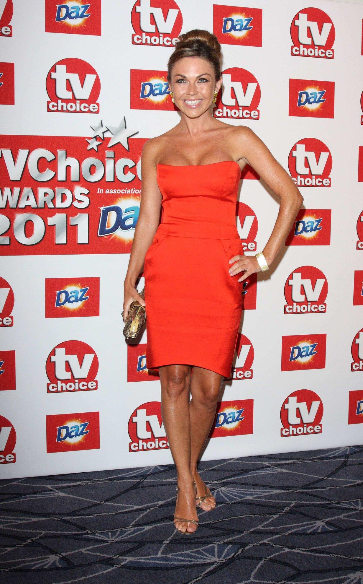 Adele Silva TV Choice Awards 2011 on September 13, 2011