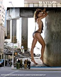 Jessica Rafalowski in lingerie - ass