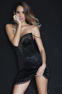 Susanna Canzian in lingerie