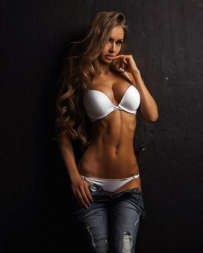 Valentina Grishko in lingerie