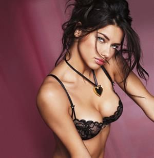 Adriana Lima Victoria's Secret 2011 Valentines Day Collection