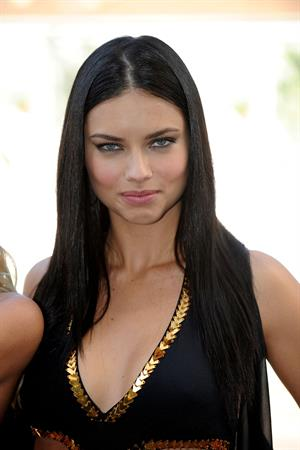 Adriana Lima Victoria's Secret 2011 Swim Collection launch in Los Angeles on March 30, 2011