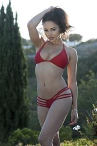 Courtnie Quinlan in a bikini