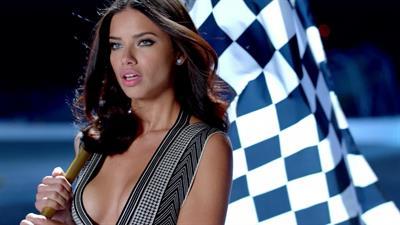 Adriana Lima KIA Super Bowl ad