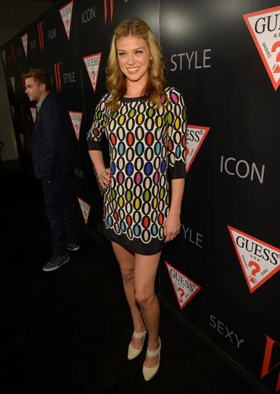 Adrianne Palicki W Magazine and Guess Celebrate 30 Years of Fashion and Film in Hollywood, January 8, 2013