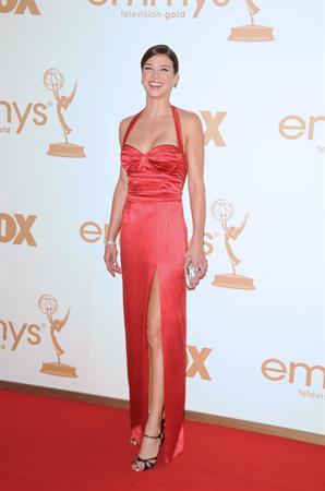 Adrianne Palicki 63rd Annual Primetime Emmy Awards on September 18, 2011