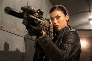 Adrianne Palicki G.I. Joe Retaliation production stills