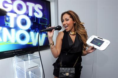 Adrienne Bailon Nintendo hosts Wii U Experience in New York City on June 27, 2012