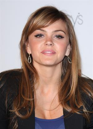 Aimee Teegarden meet fans and sign autographs at a special event hosted at Macy's Glendale galleria on April 22, 2011