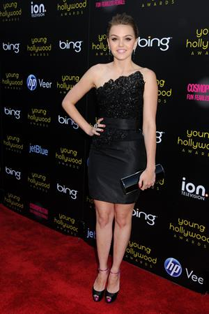 Aimee Teegarden at the Young Hollywood Awards presented by Bing at Club Nokia on May 20, 2011
