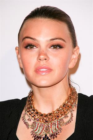 Aimee Teegarden 9th annual Teen Vogue Hollywood party at Paramount Studios on September 23, 2011