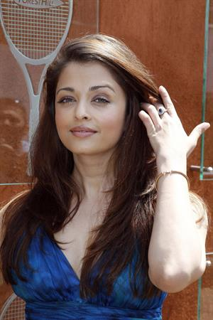 Aishwarya Rai at the french open in Paris on June 5, 2010
