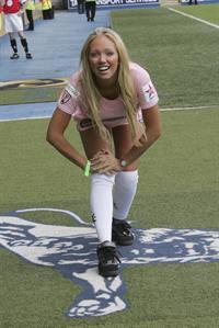 Aisleyne Wallace Celebrity Soccer Six Tournament, London (May 2008)