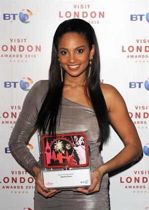 Alesha Dixon - Visit London awards - 8th Dec 2010